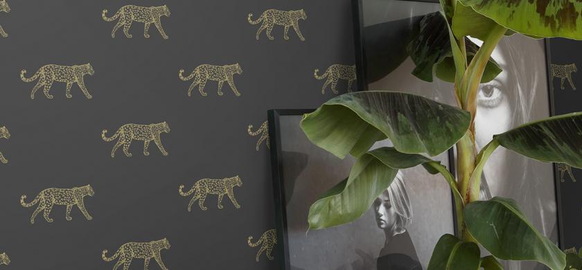 panther tapet