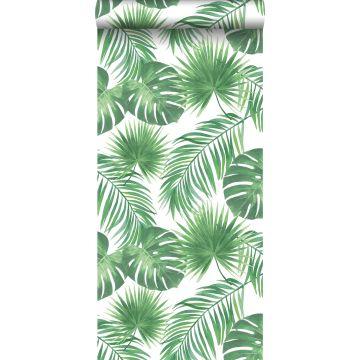 tapet tropiska blad grönt från ESTA home