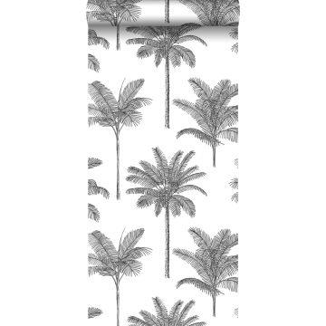 tapet palmer svart och vitt från ESTA home