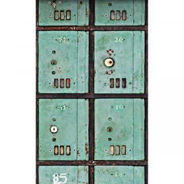 fototapet brevlådor havsgrönt från ESTA home