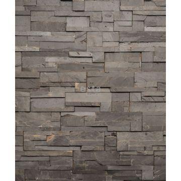 fototapet komposition av träbitar grått från ESTA home