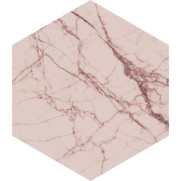 wallsticker marmor grårosa från ESTA home