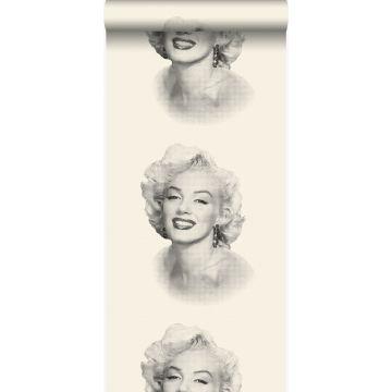 tapet Marilyn Monroe vitt och svart från Origin