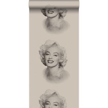 tapet Marilyn Monroe grått och svart från Origin