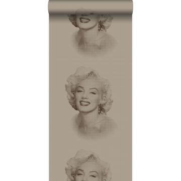 tapet Marilyn Monroe glänsande brons från Origin