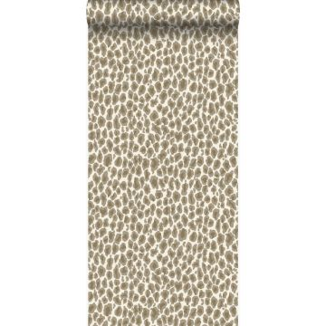 tapet leopardskinn beige från Origin