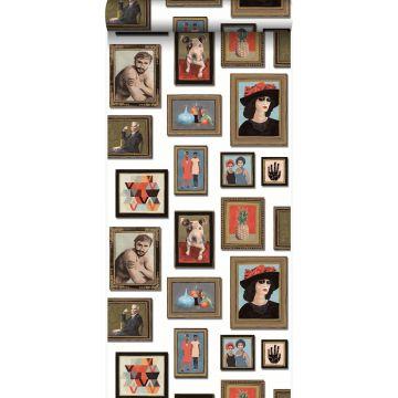 tapet målningar benvitt från Origin
