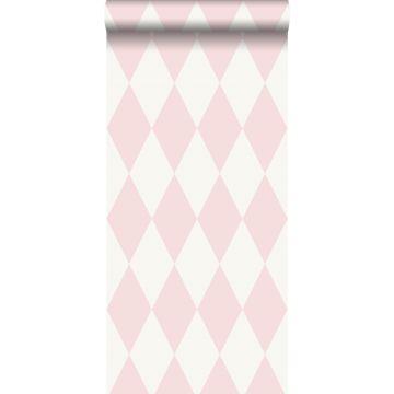 tapet rutor glänsande rosa från Origin