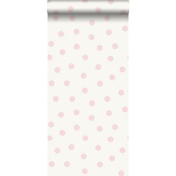 tapet prickar glänsande rosa och vitt från Origin