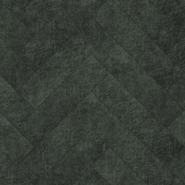 selvklæbende fliser øko-læder fiskbensmönster antracitgrått från Origin